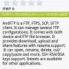 XPERIAからFTPサーバを操作できる「AndFTP」