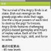 大人気ゲーム、怒りの赤い鳥vs緑の豚「Angry Birds」