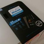 強化ガラス液晶保護フィルム「GLAS.t SLIM リアル スクリーン プロテクター」を貼ってもらってきたよ
