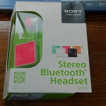 我が家に「Sony Stereo Bluetooth Headset SBH20」がやってきた