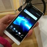 Xperia NX SO-02Dをスマートフォンラウンジで触ってきたよ