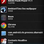 Xperia GX / SXで必要ないアプリを無効化する方法