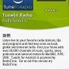 NHKラジオをはじめとする世界のラジオ放送が聴ける「TuneIn Radio」
